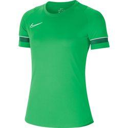 Nike Academy 21 T-Shirt Dames - Green Spark