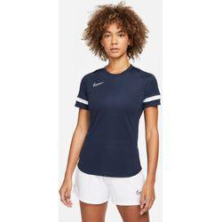 Nike Academy 21 T-Shirt Dames - Marine / Wit