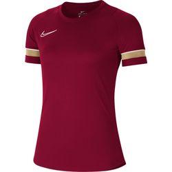 Nike Academy 21 T-Shirt Dames - Bordeaux / Goud