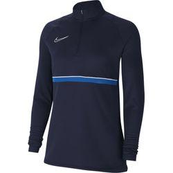 Nike Academy 21 Ziptop Dames - Marine / Royal