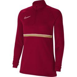 Nike Academy 21 Ziptop Dames - Bordeaux / Goud