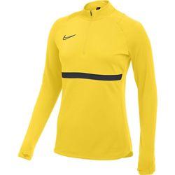 Nike Academy 21 Ziptop Dames - Geel / Antraciet