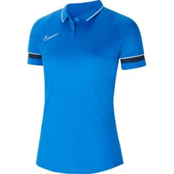 Nike Academy 21 Polo Dames - Royal / Marine