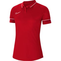 Nike Academy 21 Polo Dames - Rood