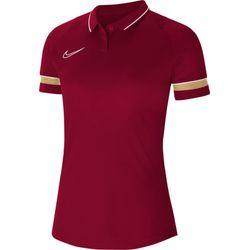 Nike Academy 21 Polo Dames - Bordeaux