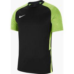 Nike Strike II Shirt Korte Mouw Heren - Zwart / Fluogeel