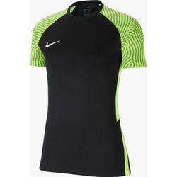 Nike Strike II Shirt Korte Mouw Dames - Zwart / Fluogeel