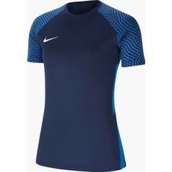 Nike Strike II Shirt Korte Mouw Dames - Marine / Royal