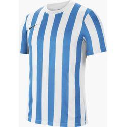 Nike Striped Division IV Maillot Manches Courtes Hommes - Blanc / Bleu Clair