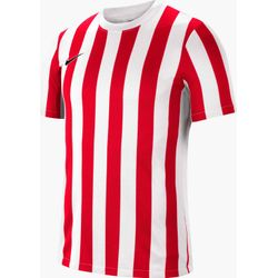 Nike Striped Division IV Maillot Manches Courtes Hommes - Blanc / Rouge