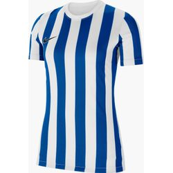 Nike Striped Division IV Shirt Korte Mouw Dames - Wit / Royal