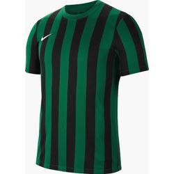 Nike Striped Division IV Shirt Korte Mouw Kinderen - Groen / Zwart