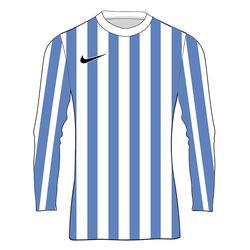 Nike Striped Division IV Maillot À Manches Longues Enfants - Blanc / Royal