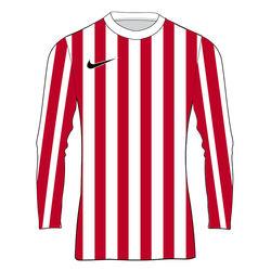 Nike Striped Division IV Maillot À Manches Longues Enfants - Blanc / Rouge