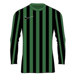 Nike Striped Division IV Maillot À Manches Longues Enfants - Vert / Noir