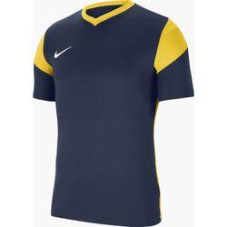 Nike Park Derby III Shirt Korte Mouw Heren - Marine / Geel