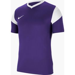 Nike Park Derby III Maillot Manches Courtes Hommes - Mauve / Blanc