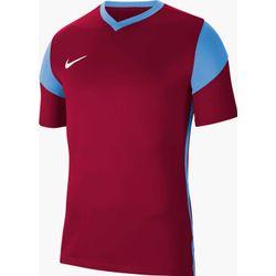 Nike Park Derby III Shirt Korte Mouw Heren - Bordeaux / Hemelsblauw