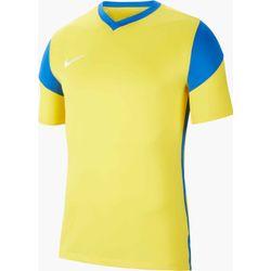 Nike Park Derby III Shirt Korte Mouw - Geel / Royal