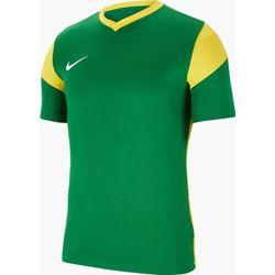 Nike Park Derby III Shirt Korte Mouw Kinderen - Groen / Geel