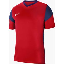 Nike Park Derby III Maillot Manches Courtes Enfants - Rouge / Marine