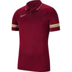Nike Academy 21 Polo Heren - Bordeaux
