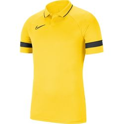 Nike Academy 21 Polo Hommes - Jaune / Anthracite