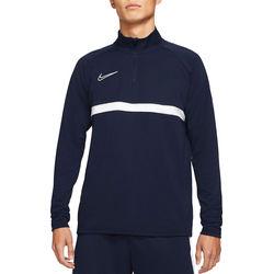 Nike Academy 21 Ziptop Heren - Marine / Wit
