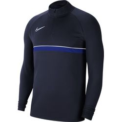 Nike Academy 21 Ziptop Heren - Marine / Royal
