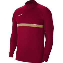 Nike Academy 21 Ziptop Kinderen - Bordeaux / Goud