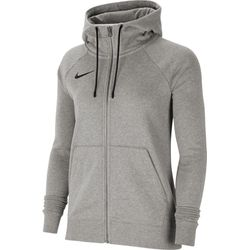 Nike Team Club 20 Sweater Met Rits Dames - Donkergrijs Gemeleerd