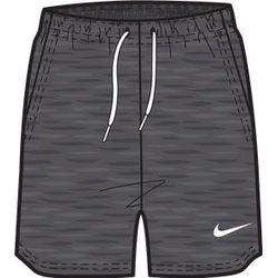 Nike Team Club 20 Short Sweat Femmes - Charcoal