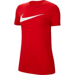 Nike Team Club 20 Swoosh T-Shirt Femmes - Rouge
