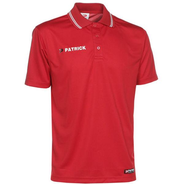 Patrick Almeria140 Polo Heren - Rood