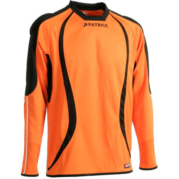 Patrick Calpe101 Keepershirt Lange Mouw Heren - Oranje / Zwart