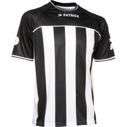 Patrick Coruna Shirt Korte Mouw Heren - Zwart / Wit