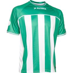 Patrick Coruna Shirt Korte Mouw Heren - Groen / Wit