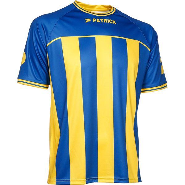 Patrick Coruna Shirt Korte Mouw Heren - Royal / Geel