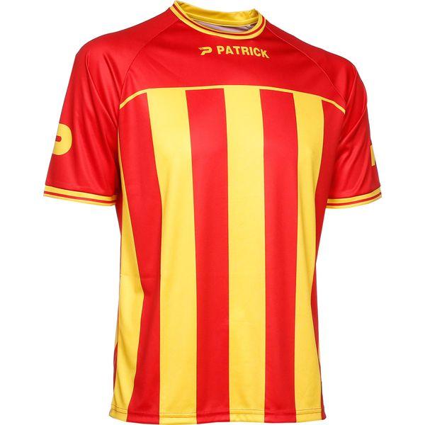 Patrick Coruna Shirt Korte Mouw Heren - Rood / Geel