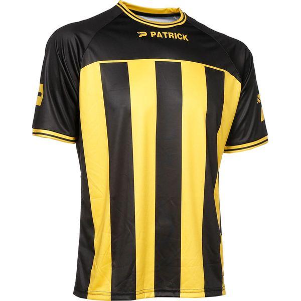 Patrick Coruna Shirt Korte Mouw Heren - Zwart / Geel