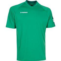 Patrick Dynamic Shirt Korte Mouw - Groen / Donkergroen