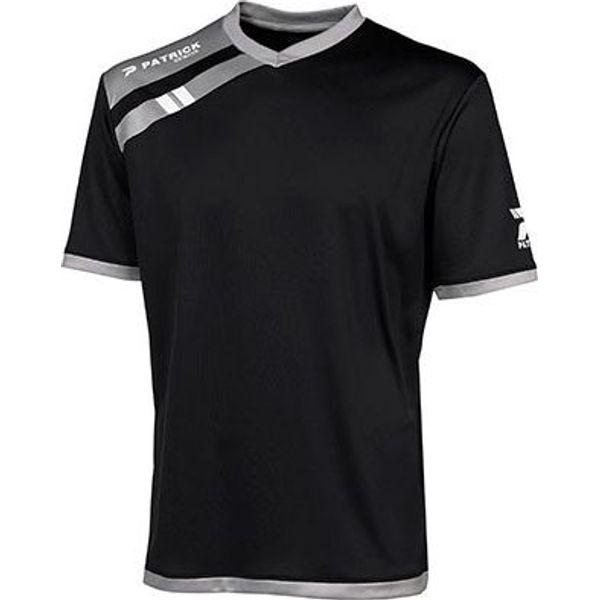 Patrick Force Shirt Korte Mouw Kinderen - Zwart / Grijs