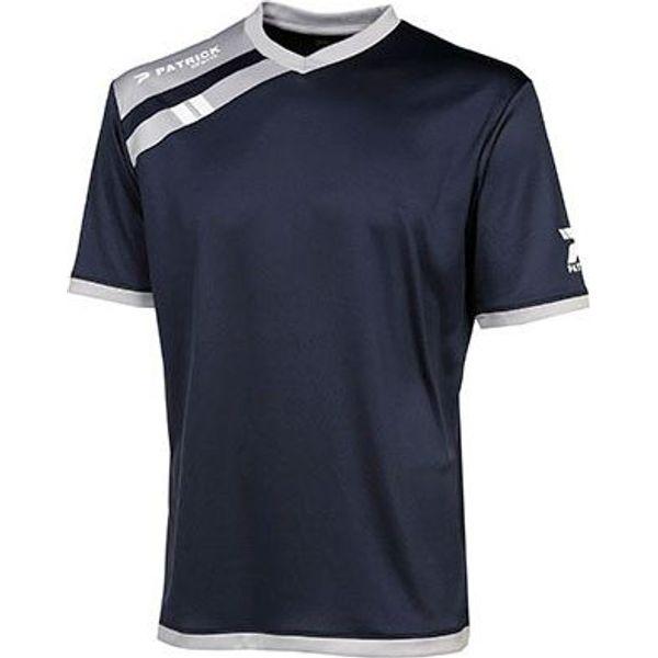 Patrick Force Shirt Korte Mouw Kinderen - Marine / Grijs