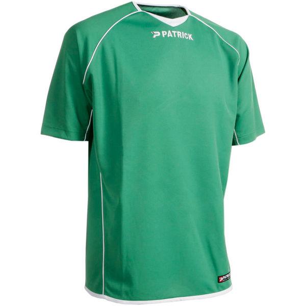 Patrick Girona101 Shirt Korte Mouw Heren - Groen / Wit