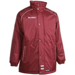 Patrick Girona Coach Jacket - Bordeaux / Wit