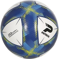 Patrick Global (3) Trainingsbal - Wit / Blauw / Geel
