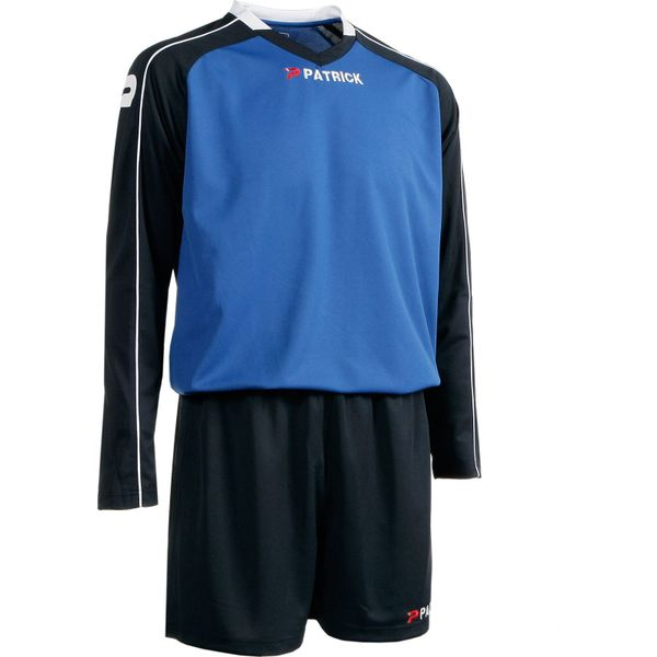 Patrick Granada305 Voetbalset Lange Mouw Heren - Royal / Marine / Wit
