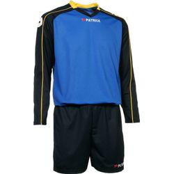 Patrick Granada305 Voetbalset Lange Mouw Heren - Royal / Marine / Geel