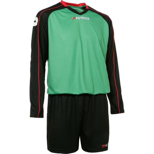 Patrick Granada305 Voetbalset Lange Mouw Kinderen - Groen / Zwart / Rood