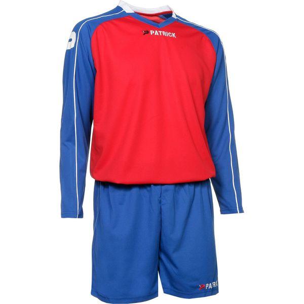 Patrick Granada305 Voetbalset Lange Mouw Kinderen - Rood / Royal / Wit